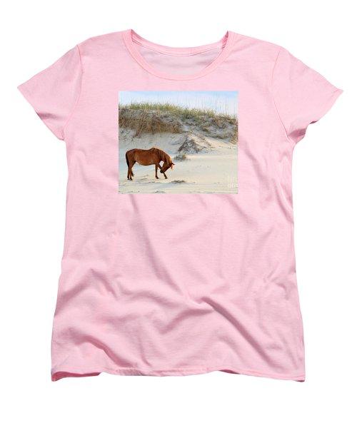 Giving Thanks Women's T-Shirt (Standard Cut) by Debbie Green