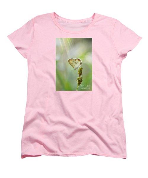 God's Love Shining Down Women's T-Shirt (Standard Cut) by Debbie Green
