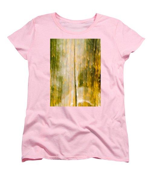 Golden Falls  Women's T-Shirt (Standard Cut) by Bill Gallagher