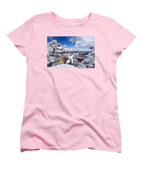 Grand Canyon Winter - 1 Women's T-Shirt (Standard Cut)