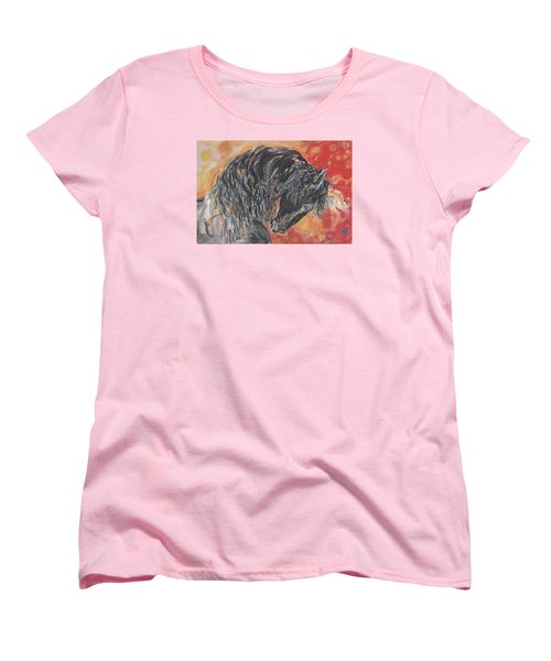 Great Fresian Women's T-Shirt (Standard Cut) by Mary Armstrong