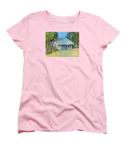 Women's T-Shirt (Standard Cut) featuring the painting Graynook by LeAnne Sowa
