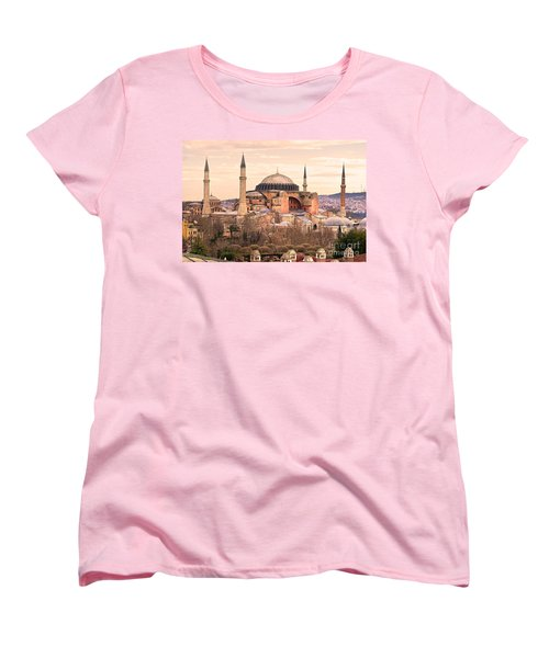 Hagia Sophia Mosque - Istanbul Women's T-Shirt (Standard Cut) by Luciano Mortula