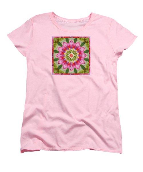 Women's T-Shirt (Standard Cut) featuring the photograph Healing Mandala 25 by Bell And Todd