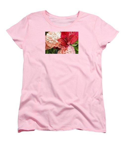 Women's T-Shirt (Standard Cut) featuring the photograph Heart's A Flutter by Julie Andel