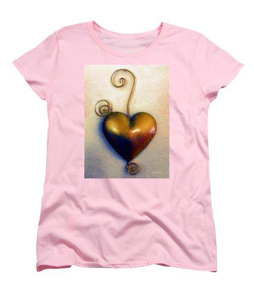 Heartswirls Women's T-Shirt (Standard Cut) by RC deWinter