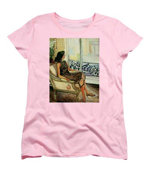 Heddy Women's T-Shirt (Standard Cut) by Helena Bebirian