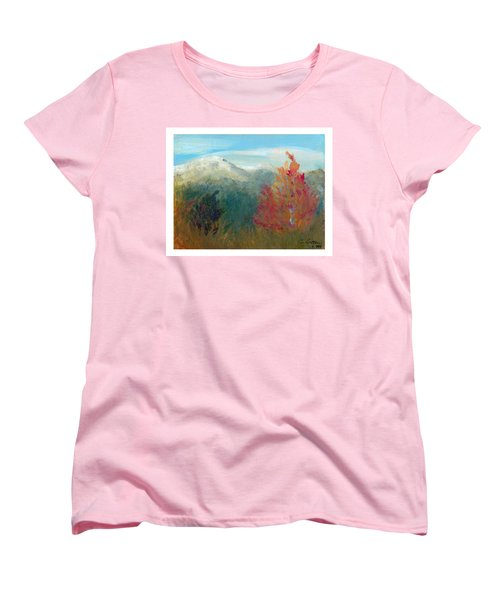 High Country View Women's T-Shirt (Standard Cut) by C Sitton