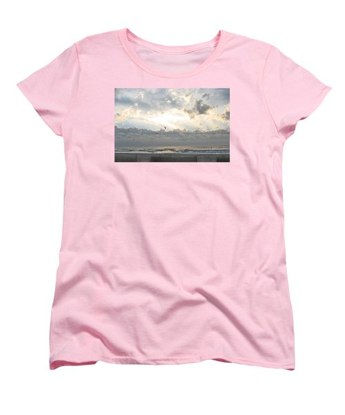 His Glory Shines Women's T-Shirt (Standard Cut) by Judith Morris