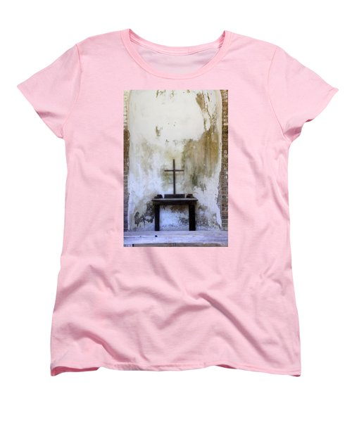 Historic Hope Women's T-Shirt (Standard Cut) by Laurie Perry