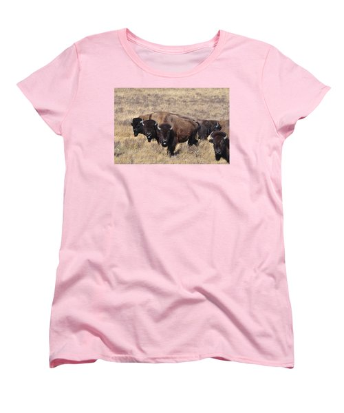 Women's T-Shirt (Standard Cut) featuring the photograph Home On The Range by Fran Riley