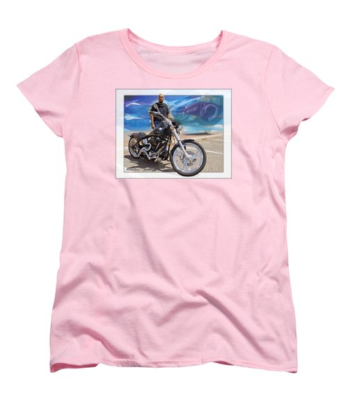 Horses Of Iron10 Women's T-Shirt (Standard Cut) by Walter Herrit