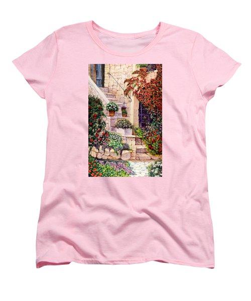 House In Oyster Bay Women's T-Shirt (Standard Cut) by Sher Nasser
