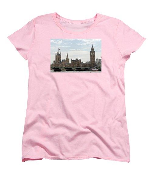 Houses Of Parliament Women's T-Shirt (Standard Cut) by Tony Murtagh