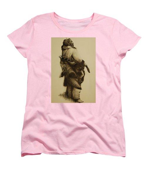 Hunter Women's T-Shirt (Standard Cut) by Jean Cormier