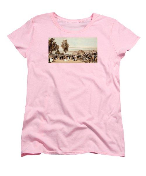 Hyde Park, Towards The Grosvenor Gate Women's T-Shirt (Standard Cut)