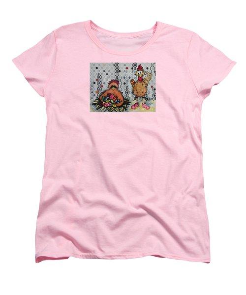 I Think I Am In Trouble Women's T-Shirt (Standard Cut) by Chrisann Ellis