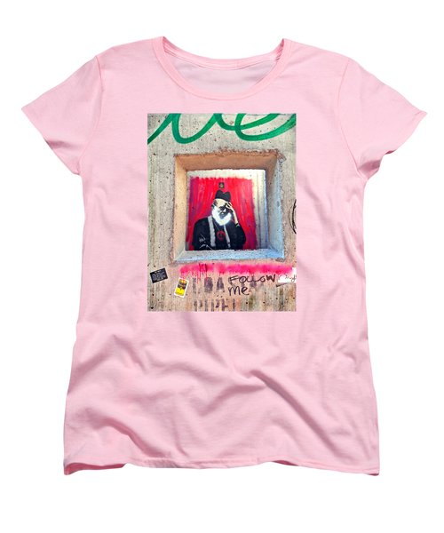 Women's T-Shirt (Standard Cut) featuring the photograph I'm Thinking by Joan Reese