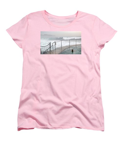 In Safe Waters Women's T-Shirt (Standard Cut) by Evelyn Tambour