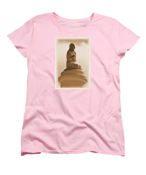 Women's T-Shirt (Standard Cut) featuring the photograph In Supplication by Nadalyn Larsen