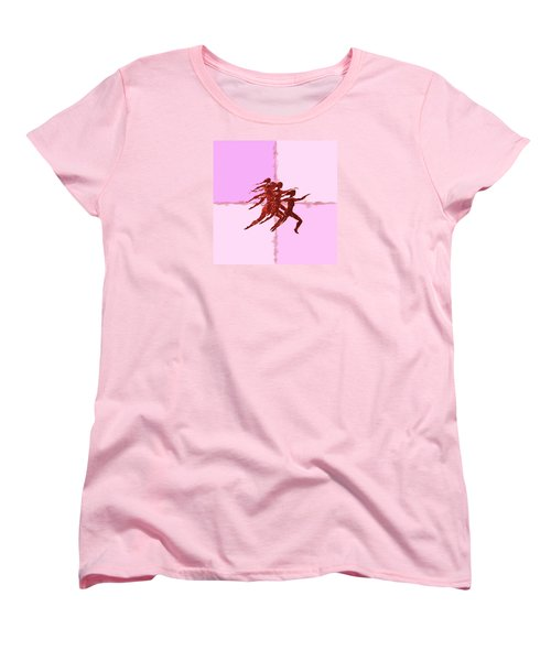 In The Pink Women's T-Shirt (Standard Cut) by Mary Armstrong