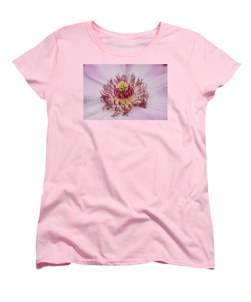 Women's T-Shirt (Standard Cut) featuring the photograph Inside The Flower by Mike Martin