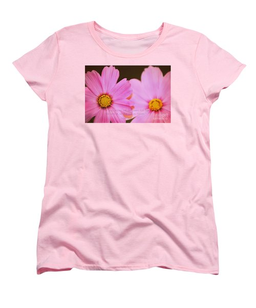 Inspirational Flower 2 Women's T-Shirt (Standard Cut) by Eric Liller