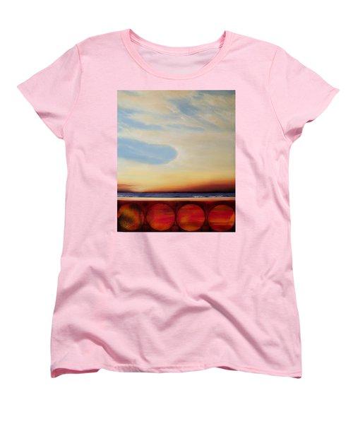 Internal Fires Women's T-Shirt (Standard Cut) by Albert Puskaric