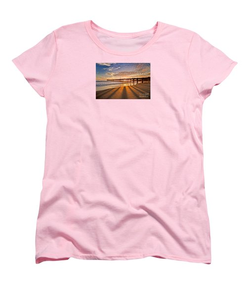 Into The Light Women's T-Shirt (Standard Cut) by Alice Cahill