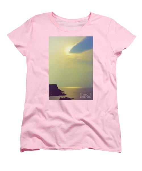 Ireland Giant's Causeway Ethereal Light Women's T-Shirt (Standard Cut) by First Star Art