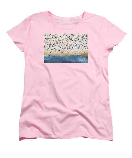Island Beach State Park Women's T-Shirt (Standard Cut) by Mike Raabe