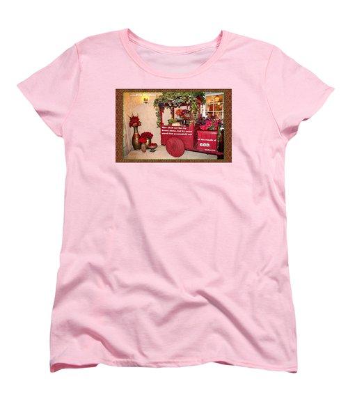 It Is Written Women's T-Shirt (Standard Cut)