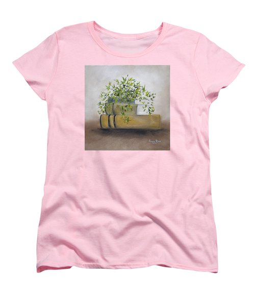 Women's T-Shirt (Standard Cut) featuring the painting Ivy League by Judith Rhue