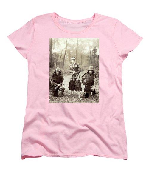 Women's T-Shirt (Standard Cut) featuring the photograph Japan Dancer, 1920s by Granger