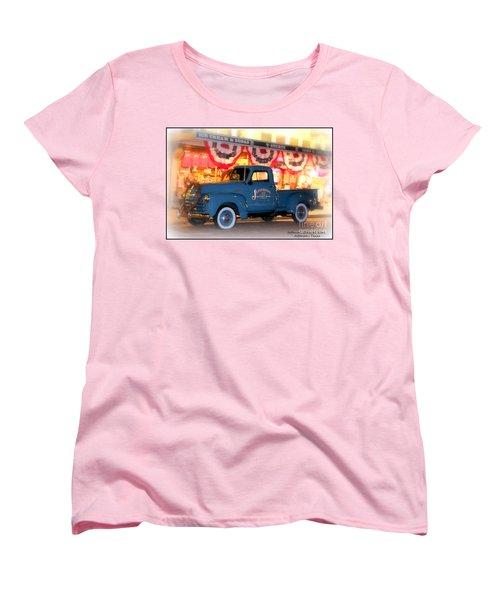 Jefferson General Store 51 Chevy Pickup Women's T-Shirt (Standard Cut) by Kathy  White