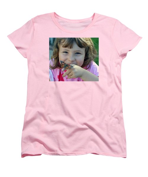 Just Cute Women's T-Shirt (Standard Cut) by Shoal Hollingsworth