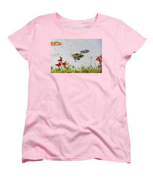 Women's T-Shirt (Standard Cut) featuring the photograph Just Hanging Out by Cynthia Guinn