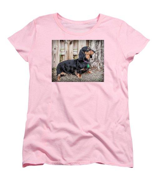 Katie Women's T-Shirt (Standard Cut) by Jim Thompson