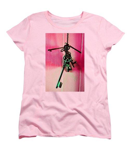 Keyed Women's T-Shirt (Standard Cut) by Holly Blunkall