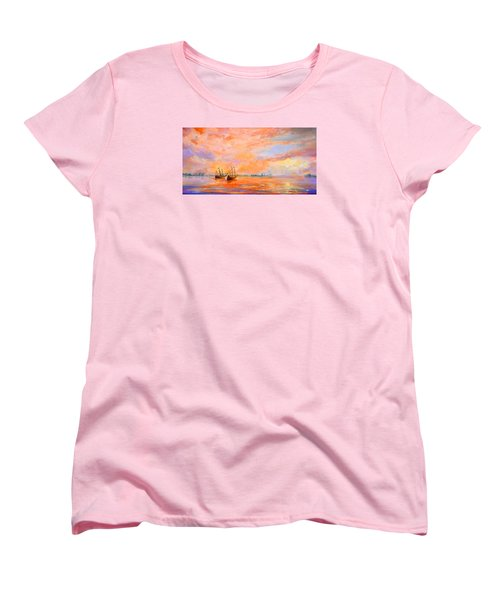 La Florida Women's T-Shirt (Standard Cut) by AnnaJo Vahle