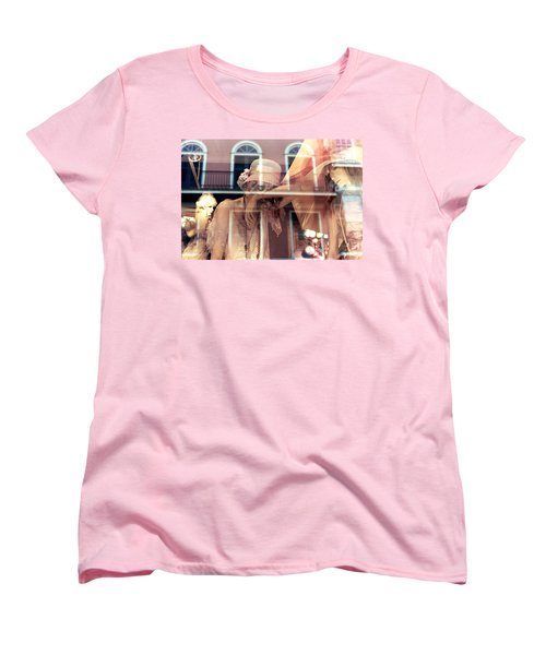 Ladies Of The French Quarter Women's T-Shirt (Standard Cut) by Nadalyn Larsen