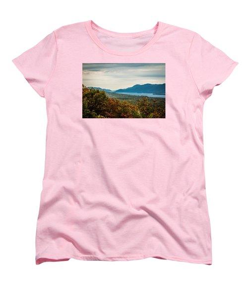 Lake George Women's T-Shirt (Standard Cut)