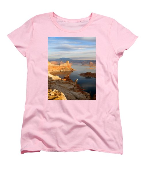 Lake Powell From Alstrum Pt 12 Women's T-Shirt (Standard Cut) by Jeff Brunton