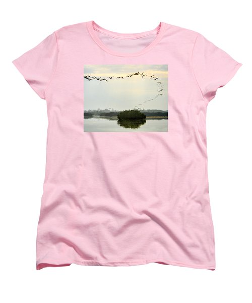 Landing Pattern Women's T-Shirt (Standard Cut) by William Beuther