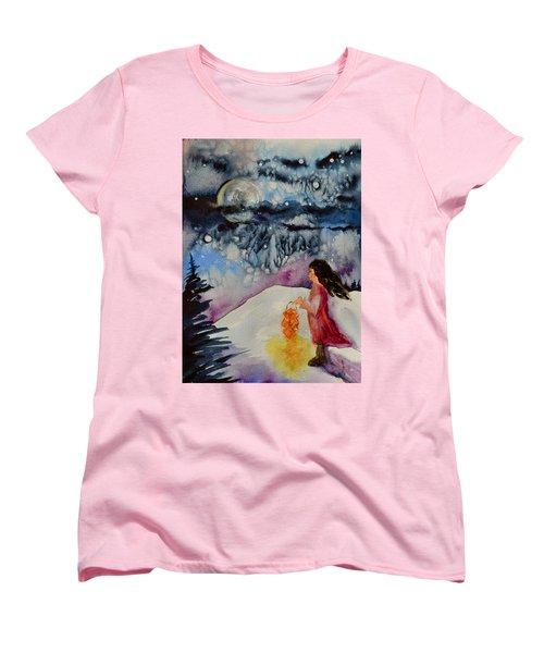 Lantern Festival Women's T-Shirt (Standard Cut) by Beverley Harper Tinsley