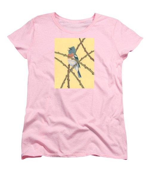 Lazuli Bunting Women's T-Shirt (Standard Cut)