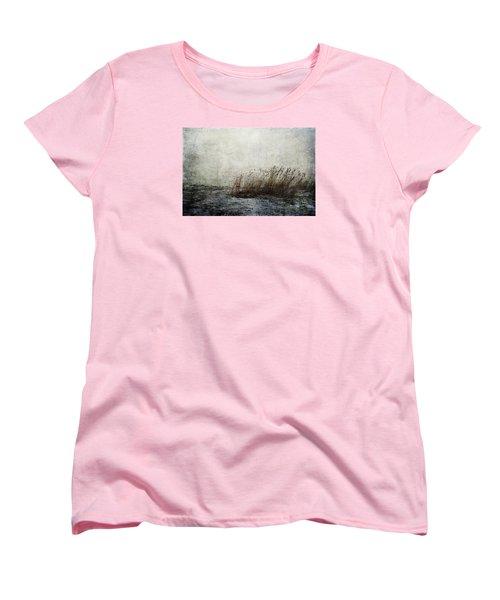 Leaning Straws Women's T-Shirt (Standard Cut) by Randi Grace Nilsberg