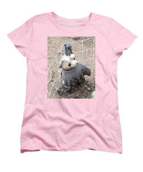 Left Outside Alone Women's T-Shirt (Standard Cut) by Natalie Ortiz