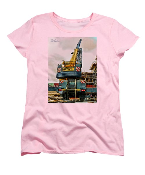 Lighter Than Air Women's T-Shirt (Standard Cut) by Steve Sahm