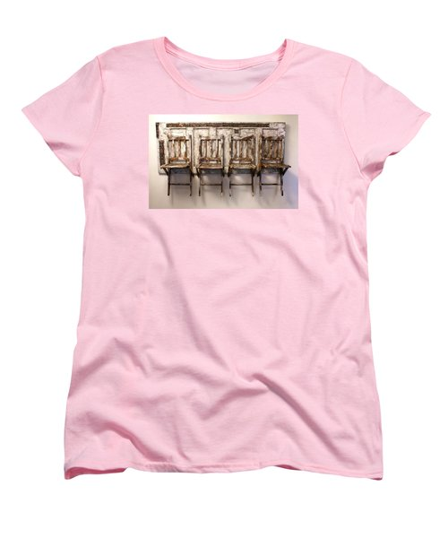 Long Wait By The Door Women's T-Shirt (Standard Cut)